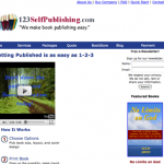 123 Self Publishing screenshot