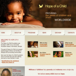HopeofaChild.org [Web Design]