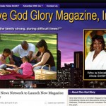 GloryGlobalNewsNetwork.com [Blog Design]