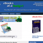 eBooksAtaBudget.com [Blog Design]