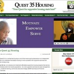 Quest35housing.org [Blog Design]