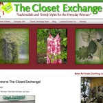 TheClosetExchange.com [Blog Design]