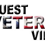 Quest Veterans Village (Flag Letters) Logo